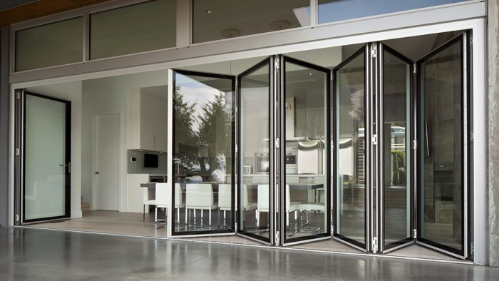 Accordion or Folding Commercial Doors
