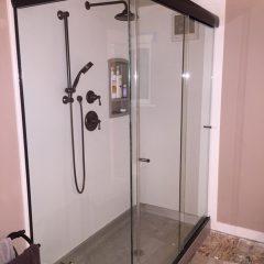 shower haley job
